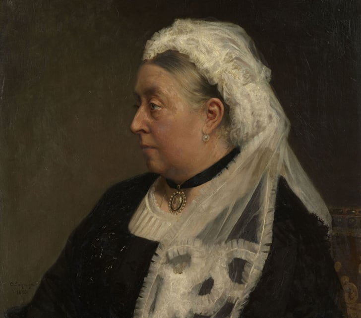 An 1883 painting of Queen Victoria
