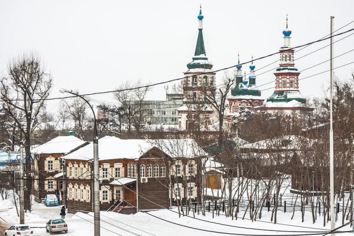 Irkutsk City Center.