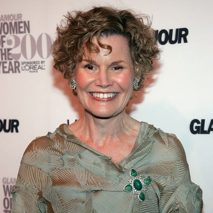 Author/activist Judy Blume
