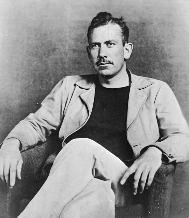 US novelist John Steinbeck