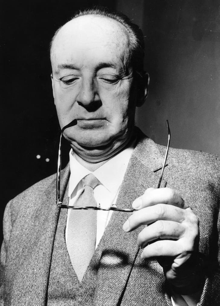 Russian writer Vladimir Nabokov