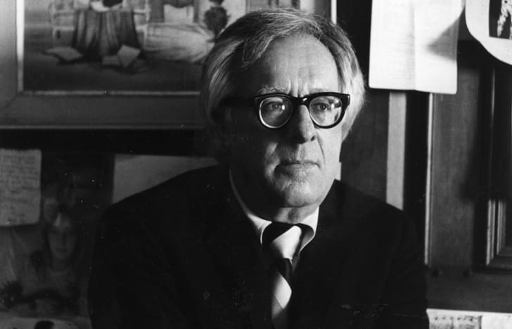 US science fiction writer Ray Bradbury