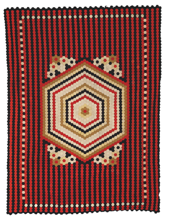 """""""War and Pieced,"""" a new exhibition organized by the American Folk Art Museum in New York, showcases quilts made by men during times of war."""
