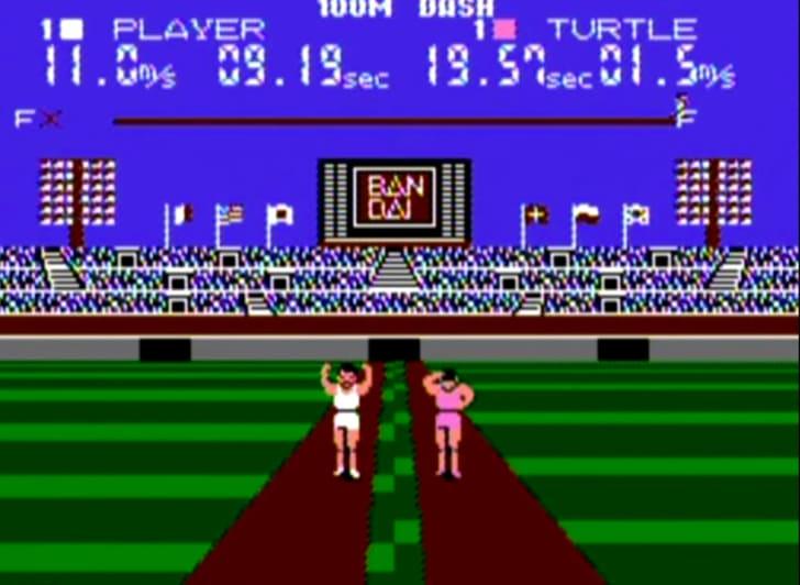 stadium games video game screenshot