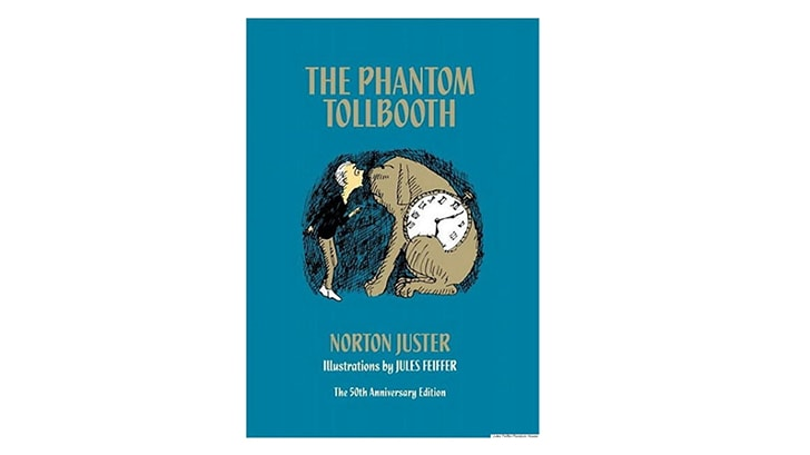 The cover of 'The Phantom Tollbooth'