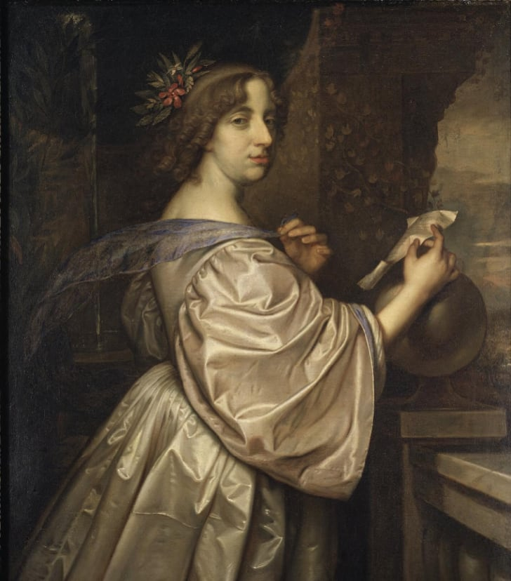A painting of Queen Christina by David Beck