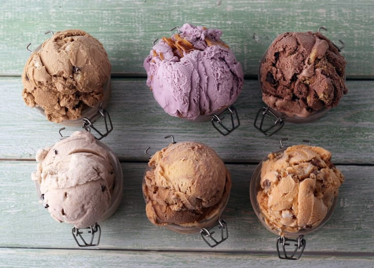 The Comfy Cow ice cream flavors