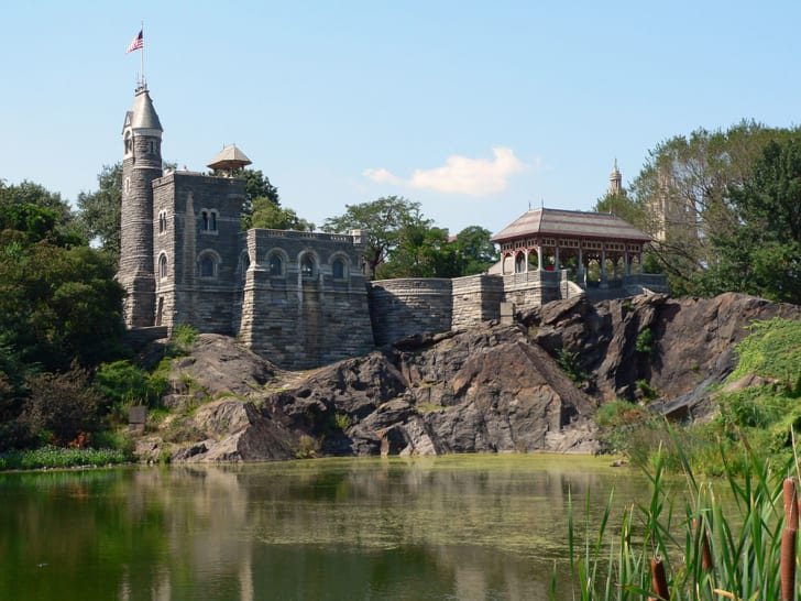 A photo of Belvedere Castle in Central Park