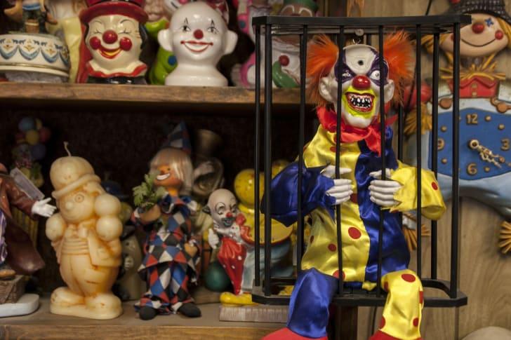 The Clown Motel in Tonopah, Nevada
