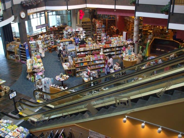 Joseph Beth booksellers interior