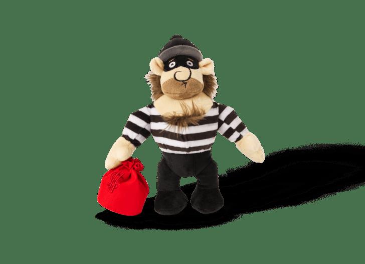 Robber Dog Toy