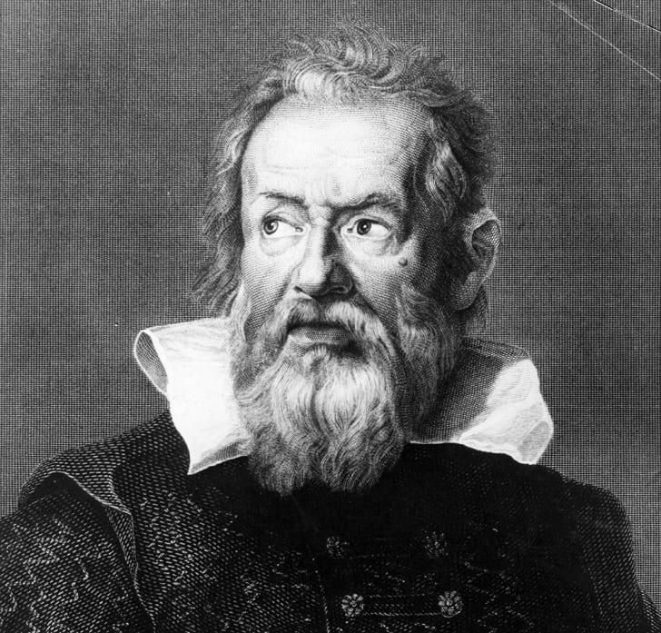A portrait of Galileo
