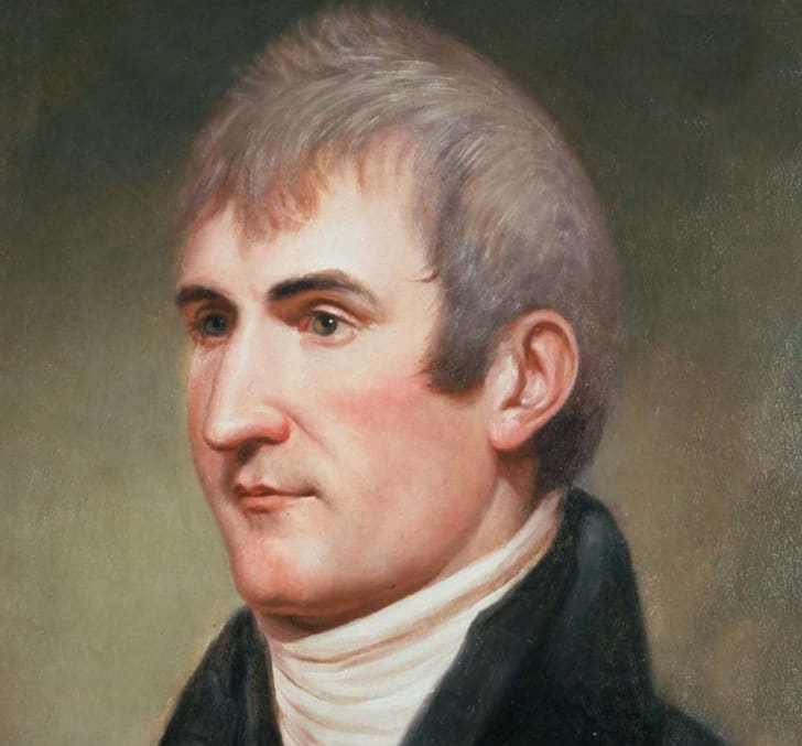A portrait of Meriwether Lewis