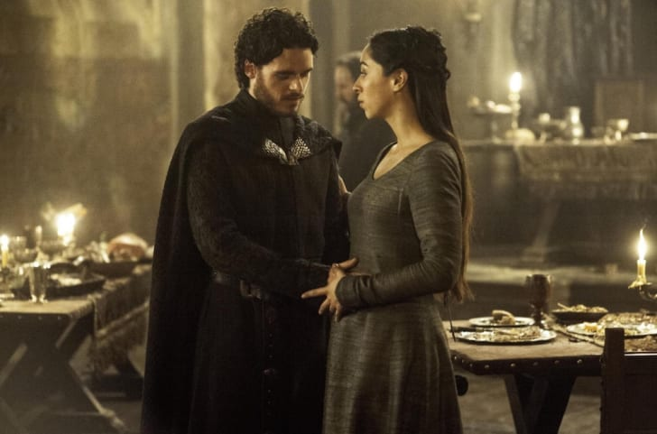 Richard Madden and Oona Chaplin in 'Game of Thrones'