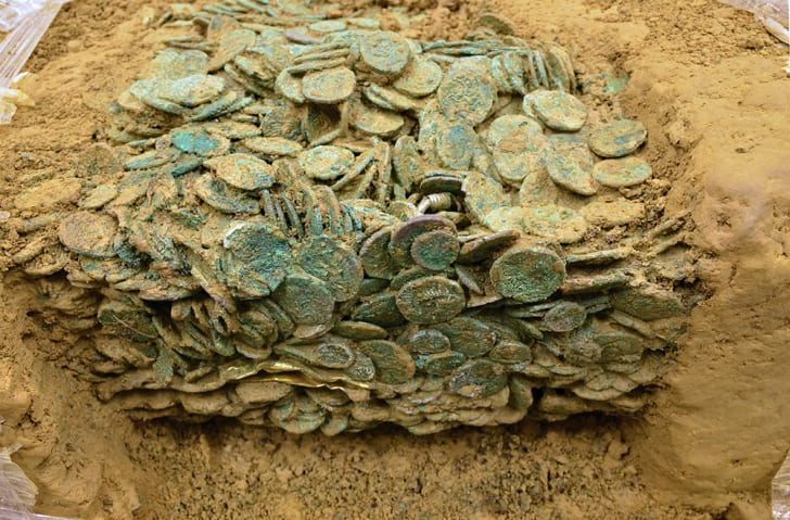 The Celtic coin hoard known as Catillon II