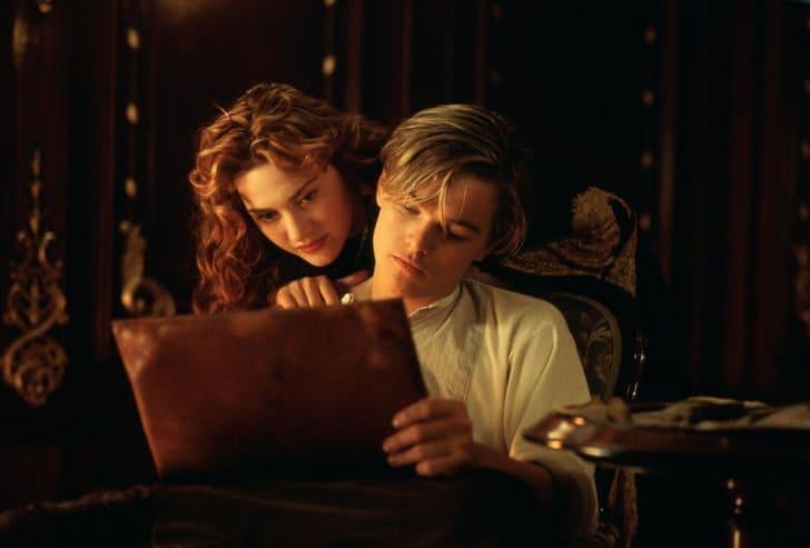 film still from titanic