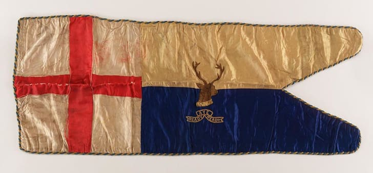 Robert Falcon Scott sledge flag
