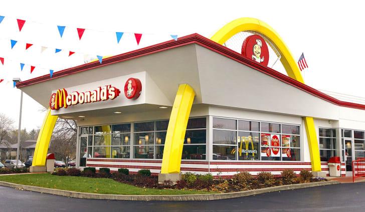 old-style McDonald's restaurant