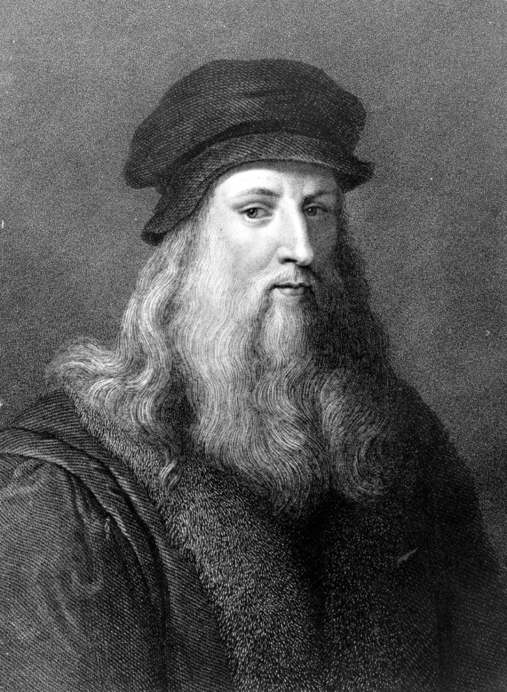 An illustration of Leonardo da Vinci