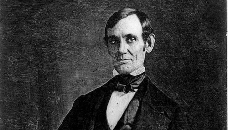 A photograph of Abraham Lincoln around 1846