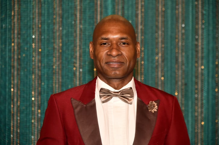 Charles M. Blow at the 2017 Brooklyn Artists Ball