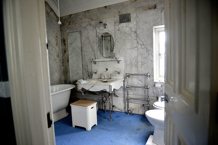 bathroom in Pineheath house