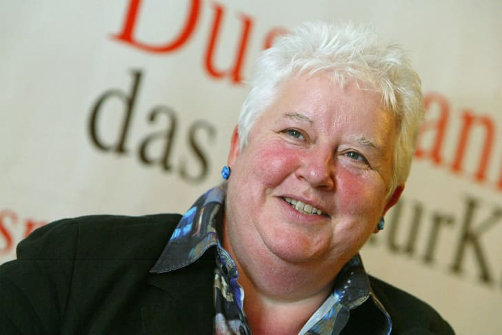 Author Val McDermid photographed during a public event