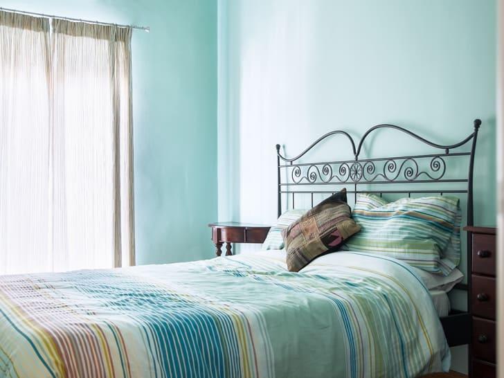 An empty bedroom.