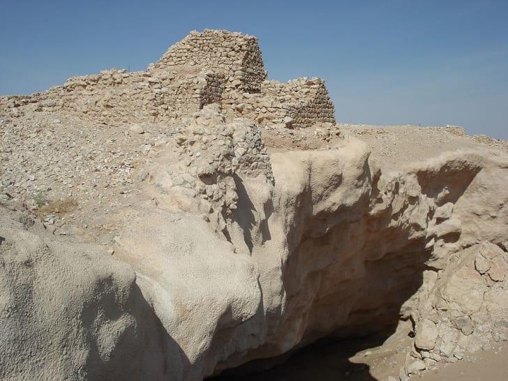 the lost city of ubar ruins