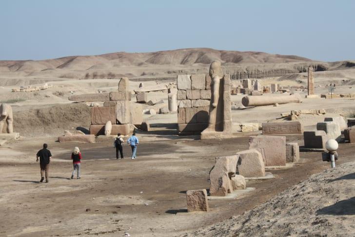 Tanis ruins