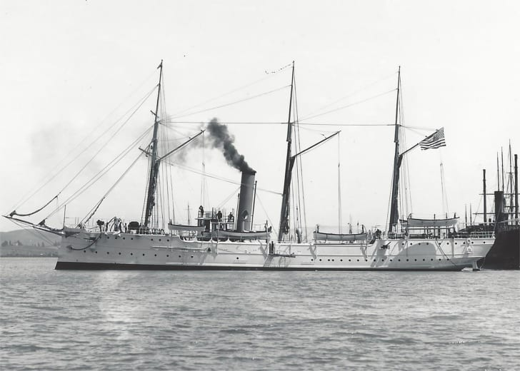 The USCGC McCulloch sunk 100 years ago, on June 13, 1917.