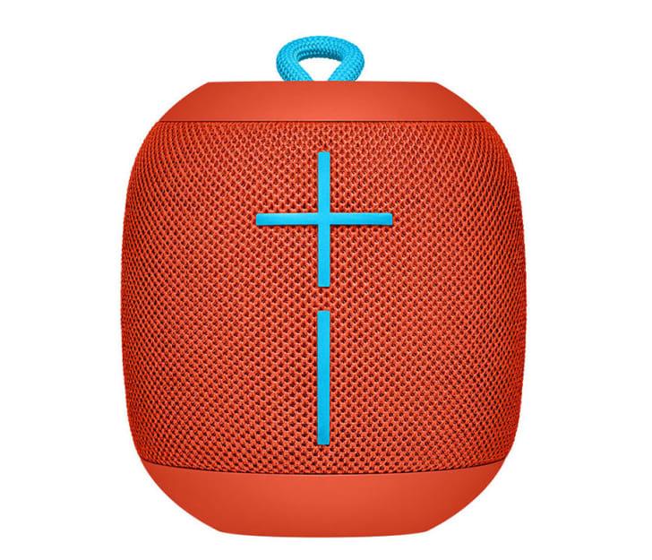 Portable Bluetooth speaker.