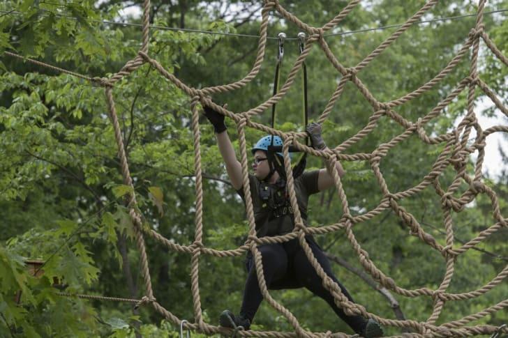 The Bronx Zoo's new Treetop Adventure attraction