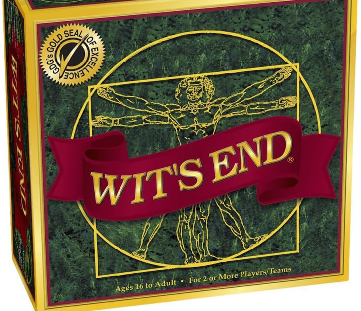 Cover of the board game 'Wit's End.'