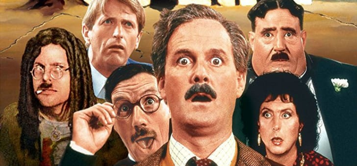 Monty Python appears on a film poster