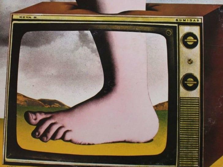 An image of a Monty Python record album