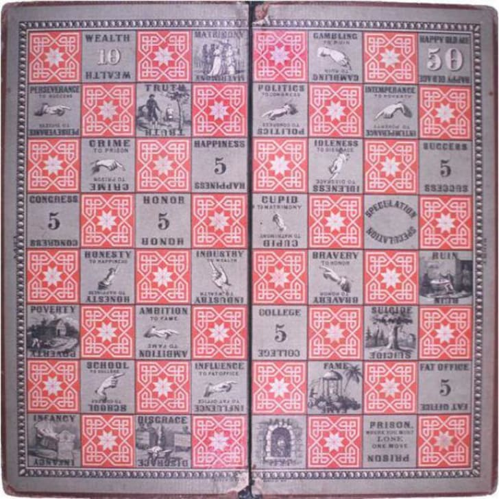The board of the Checkered Game of Life.
