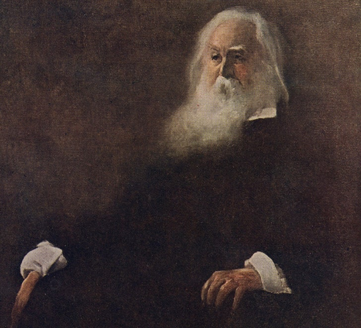American poet and author Walt Whitman