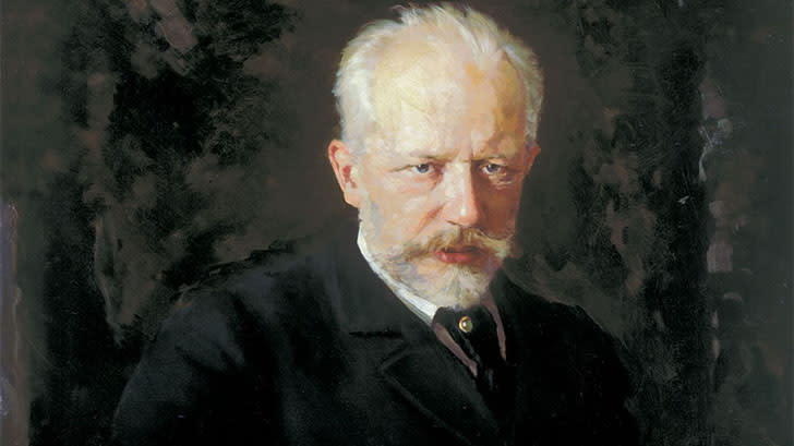 Composer Pyotr Ilyich Tchaikovsky