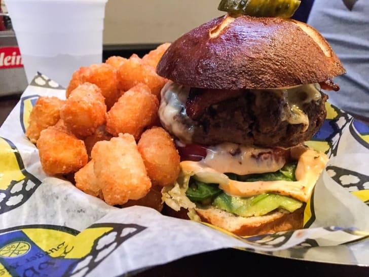 burget at abbey burger