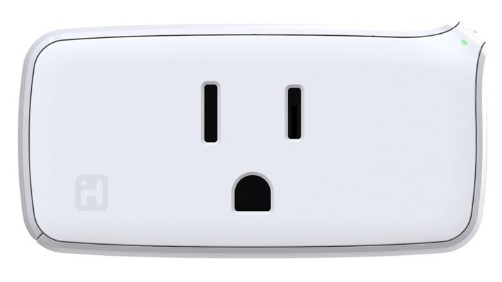 Smart white wall socket
