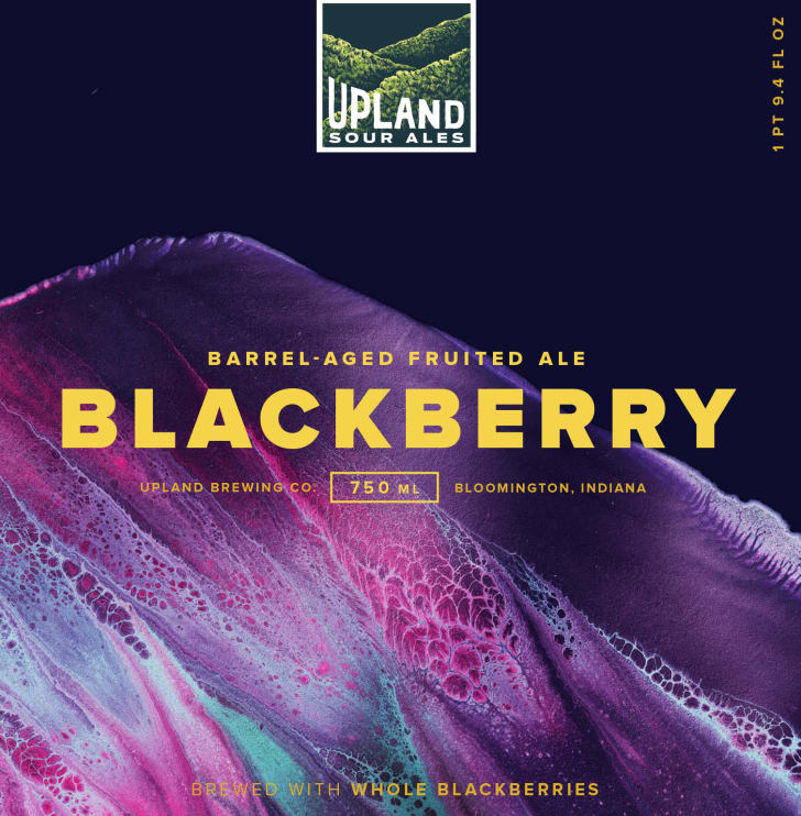 Blackberry Upland Brewing Company beer