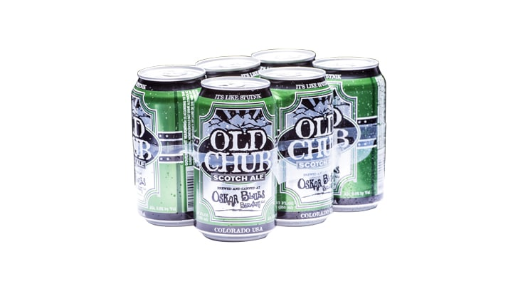 Old Chub Oskar Blues Brewery beer