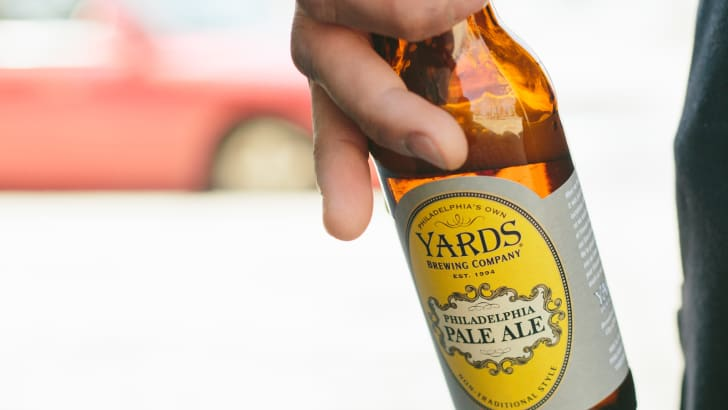 Philadelphia Pale Ale Yards Brewing Company beer