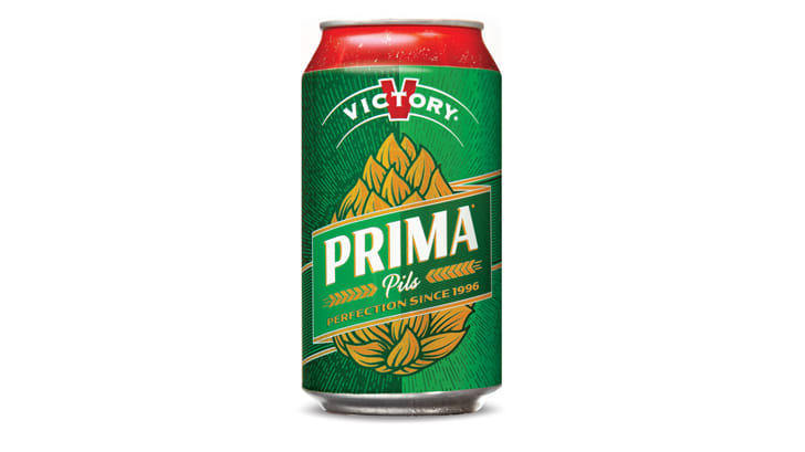 Prima Pils Victory Brewing Co. beer