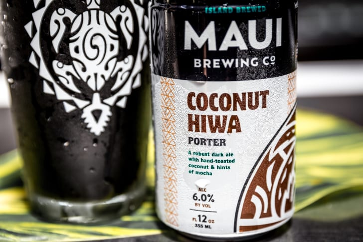 Coconut Hiwa Porter Maui Brewing Co beer