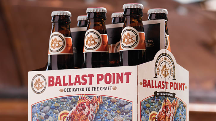 Sculpin India Pale Ale Ballast Point Brewing Company beer