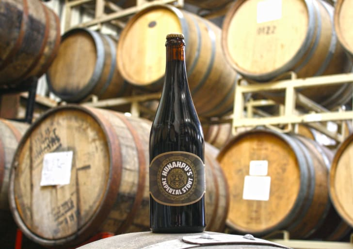 Hunahpu Imperial Stour beer