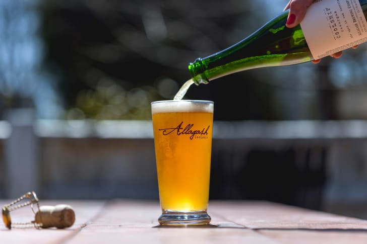 Allagash Coolship Resurgam Beer
