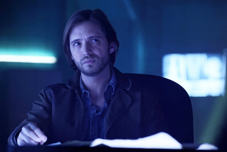 Aaron Stanford as James Cole.